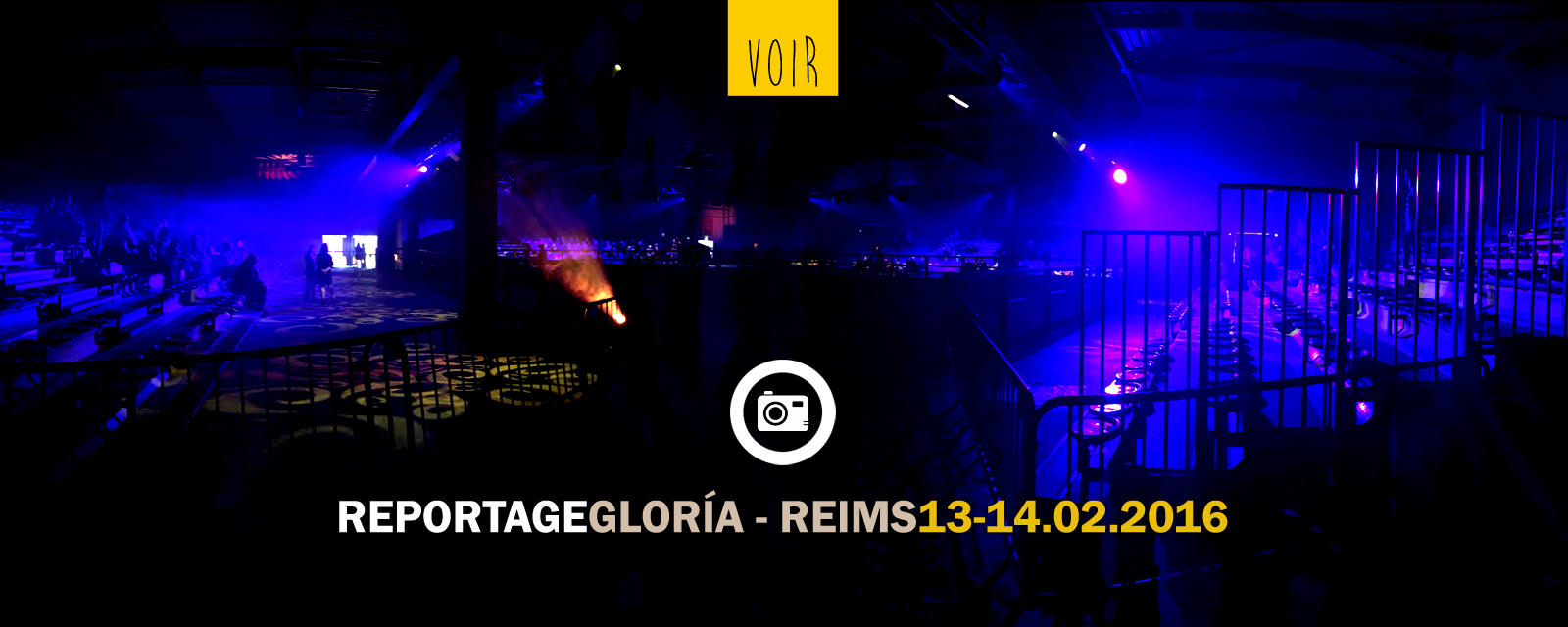 Reportage photos Spectacle Glor�a Reims