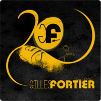 Logo Gilles Fortier 20 ans